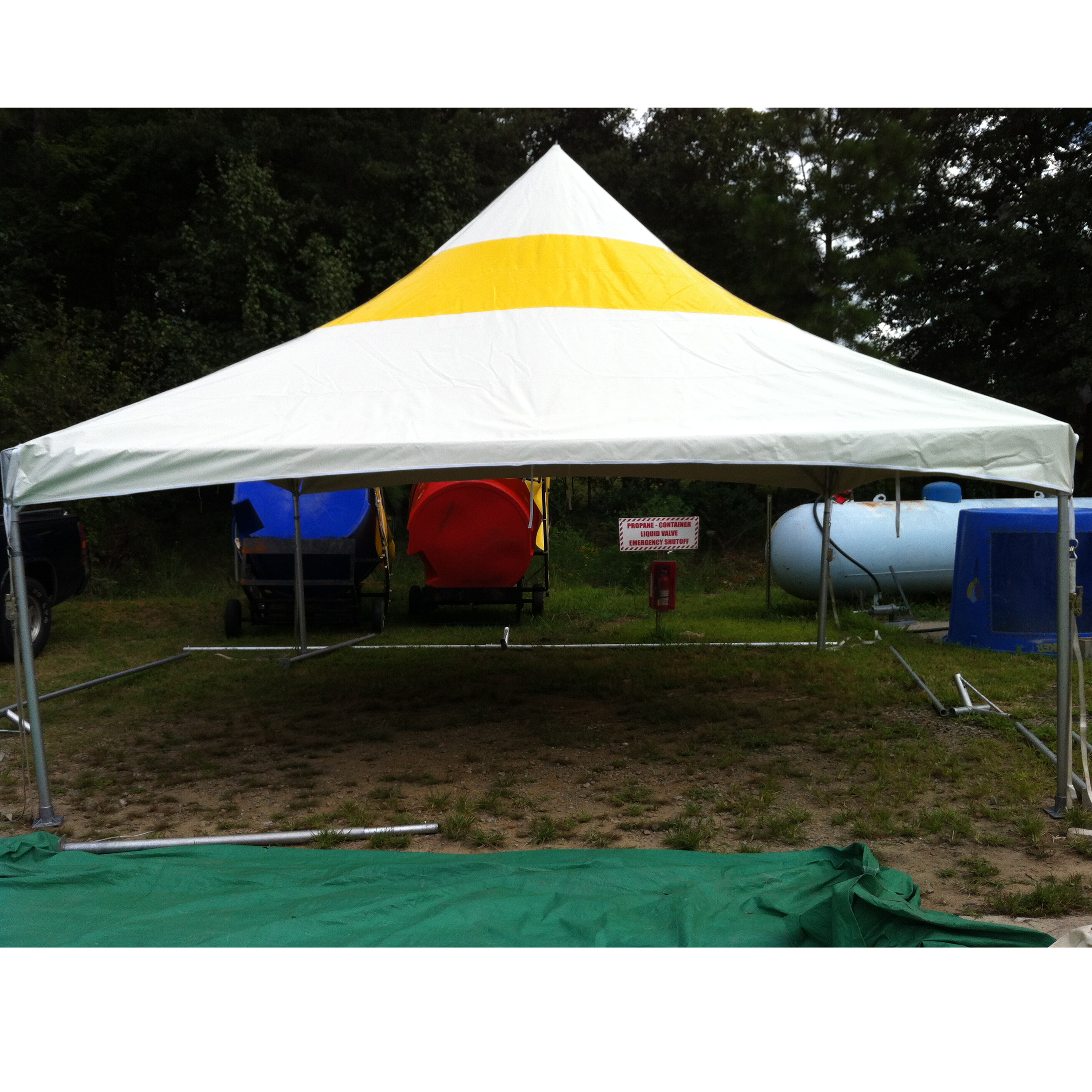 previousPlaynext  sc 1 st  DeeJayu0027s Event Rentals & 15 x 15 High Peak Tent (White and Striped) - DeeJayu0027s Event Rentals