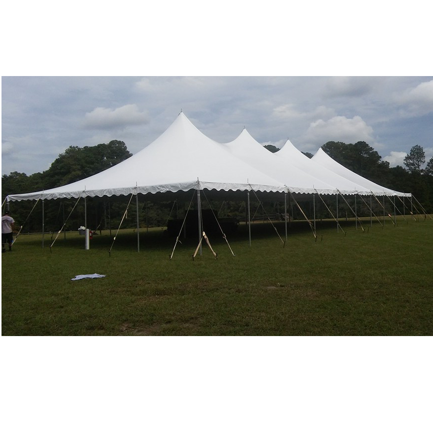 40x80 pole with cafef  sc 1 st  DeeJayu0027s Event Rentals & 40 x Expandable Pole Tent - WHITE - DeeJayu0027s Event Rentals