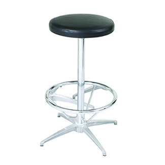 Stool Cocktail Chrome Deejay S Event Rentals