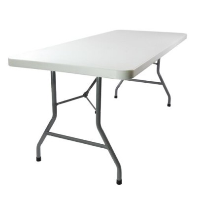 Rectangular Table 6 Ft X 30 In Plastic Deejay S Event Als - What Size Is A Rectangular Party Table