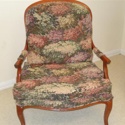 Wing Tapestry Chair